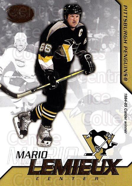2002-03 Pacific Calder #27 Mario Lemieux<br/>2 In Stock - $2.00 each - <a href=https://centericecollectibles.foxycart.com/cart?name=2002-03%20Pacific%20Calder%20%2327%20Mario%20Lemieux...&quantity_max=2&price=$2.00&code=432369 class=foxycart> Buy it now! </a>