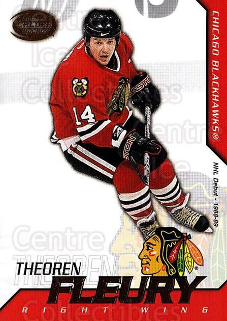 2002-03 Pacific Calder #32 Theo Fleury<br/>6 In Stock - $1.00 each - <a href=https://centericecollectibles.foxycart.com/cart?name=2002-03%20Pacific%20Calder%20%2332%20Theo%20Fleury...&quantity_max=6&price=$1.00&code=432373 class=foxycart> Buy it now! </a>