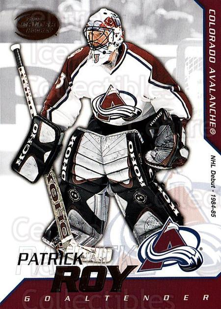 2002-03 Pacific Calder #34 Patrick Roy<br/>5 In Stock - $3.00 each - <a href=https://centericecollectibles.foxycart.com/cart?name=2002-03%20Pacific%20Calder%20%2334%20Patrick%20Roy...&quantity_max=5&price=$3.00&code=432375 class=foxycart> Buy it now! </a>