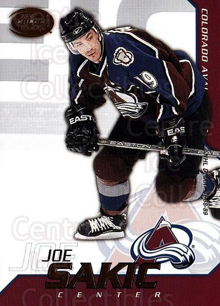 2002-03 Pacific Calder #35 Joe Sakic<br/>7 In Stock - $2.00 each - <a href=https://centericecollectibles.foxycart.com/cart?name=2002-03%20Pacific%20Calder%20%2335%20Joe%20Sakic...&quantity_max=7&price=$2.00&code=432376 class=foxycart> Buy it now! </a>