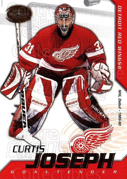 2002-03 Pacific Calder #38 Curtis Joseph<br/>4 In Stock - $1.00 each - <a href=https://centericecollectibles.foxycart.com/cart?name=2002-03%20Pacific%20Calder%20%2338%20Curtis%20Joseph...&quantity_max=4&price=$1.00&code=432378 class=foxycart> Buy it now! </a>