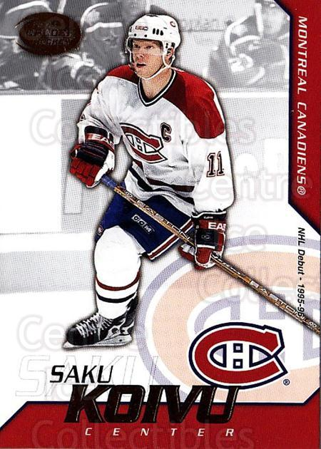2002-03 Pacific Calder #42 Saku Koivu<br/>6 In Stock - $1.00 each - <a href=https://centericecollectibles.foxycart.com/cart?name=2002-03%20Pacific%20Calder%20%2342%20Saku%20Koivu...&quantity_max=6&price=$1.00&code=432382 class=foxycart> Buy it now! </a>