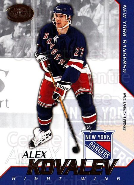 2002-03 Pacific Calder #45 Alexei Kovalev<br/>8 In Stock - $1.00 each - <a href=https://centericecollectibles.foxycart.com/cart?name=2002-03%20Pacific%20Calder%20%2345%20Alexei%20Kovalev...&quantity_max=8&price=$1.00&code=432384 class=foxycart> Buy it now! </a>