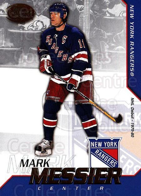2002-03 Pacific Calder #47 Mark Messier<br/>7 In Stock - $1.00 each - <a href=https://centericecollectibles.foxycart.com/cart?name=2002-03%20Pacific%20Calder%20%2347%20Mark%20Messier...&quantity_max=7&price=$1.00&code=432386 class=foxycart> Buy it now! </a>