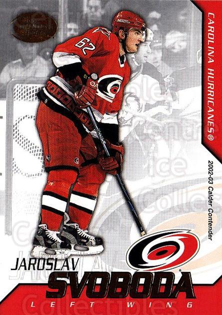 2002-03 Pacific Calder #62 Jaroslav Svoboda<br/>4 In Stock - $1.00 each - <a href=https://centericecollectibles.foxycart.com/cart?name=2002-03%20Pacific%20Calder%20%2362%20Jaroslav%20Svobod...&quantity_max=4&price=$1.00&code=432401 class=foxycart> Buy it now! </a>