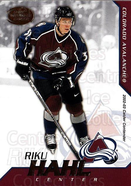 2002-03 Pacific Calder #64 Riku Hahl<br/>5 In Stock - $1.00 each - <a href=https://centericecollectibles.foxycart.com/cart?name=2002-03%20Pacific%20Calder%20%2364%20Riku%20Hahl...&quantity_max=5&price=$1.00&code=432403 class=foxycart> Buy it now! </a>