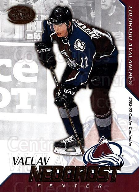 2002-03 Pacific Calder #65 Vaclav Nedorost<br/>4 In Stock - $1.00 each - <a href=https://centericecollectibles.foxycart.com/cart?name=2002-03%20Pacific%20Calder%20%2365%20Vaclav%20Nedorost...&quantity_max=4&price=$1.00&code=432404 class=foxycart> Buy it now! </a>