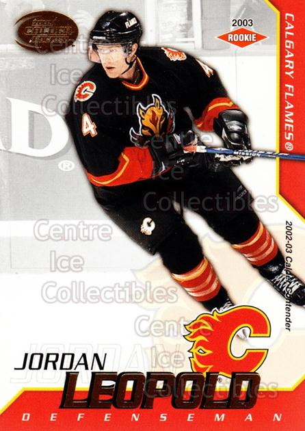 2002-03 Pacific Calder #108 Jordan Leopold<br/>1 In Stock - $3.00 each - <a href=https://centericecollectibles.foxycart.com/cart?name=2002-03%20Pacific%20Calder%20%23108%20Jordan%20Leopold...&quantity_max=1&price=$3.00&code=432443 class=foxycart> Buy it now! </a>
