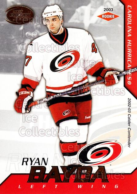 2002-03 Pacific Calder #109 Ryan Bayda<br/>4 In Stock - $3.00 each - <a href=https://centericecollectibles.foxycart.com/cart?name=2002-03%20Pacific%20Calder%20%23109%20Ryan%20Bayda...&quantity_max=4&price=$3.00&code=432444 class=foxycart> Buy it now! </a>