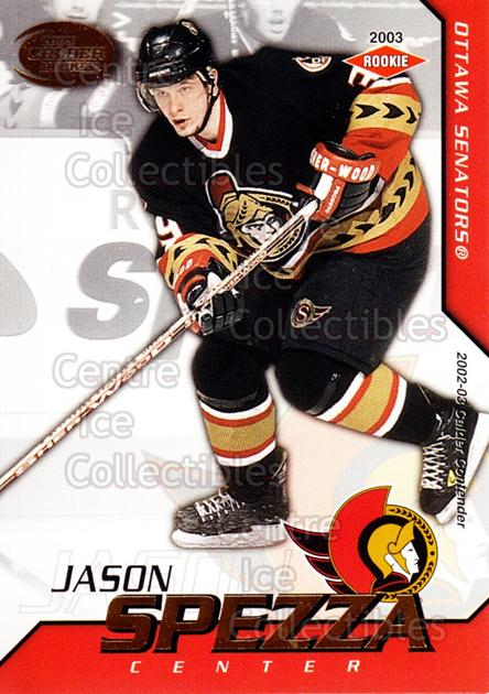 2002-03 Pacific Calder #133 Jason Spezza<br/>5 In Stock - $5.00 each - <a href=https://centericecollectibles.foxycart.com/cart?name=2002-03%20Pacific%20Calder%20%23133%20Jason%20Spezza...&quantity_max=5&price=$5.00&code=432468 class=foxycart> Buy it now! </a>