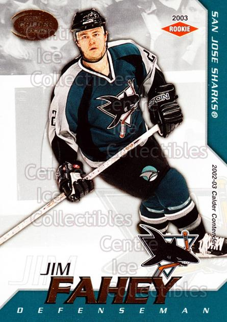 2002-03 Pacific Calder #144 Jim Fahey<br/>5 In Stock - $3.00 each - <a href=https://centericecollectibles.foxycart.com/cart?name=2002-03%20Pacific%20Calder%20%23144%20Jim%20Fahey...&quantity_max=5&price=$3.00&code=432478 class=foxycart> Buy it now! </a>