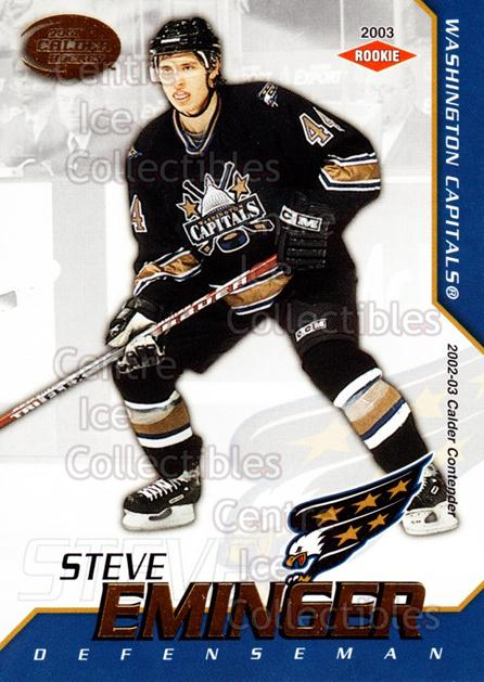 2002-03 Pacific Calder #149 Steve Eminger<br/>5 In Stock - $3.00 each - <a href=https://centericecollectibles.foxycart.com/cart?name=2002-03%20Pacific%20Calder%20%23149%20Steve%20Eminger...&quantity_max=5&price=$3.00&code=432483 class=foxycart> Buy it now! </a>