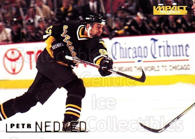 1995-96 SkyBox Impact #133 Petr Nedved<br/>5 In Stock - $1.00 each - <a href=https://centericecollectibles.foxycart.com/cart?name=1995-96%20SkyBox%20Impact%20%23133%20Petr%20Nedved...&quantity_max=5&price=$1.00&code=43294 class=foxycart> Buy it now! </a>