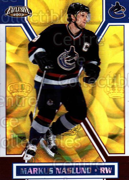 2002-03 Pacific Exclusive Gold #169 Markus Naslund<br/>3 In Stock - $2.00 each - <a href=https://centericecollectibles.foxycart.com/cart?name=2002-03%20Pacific%20Exclusive%20Gold%20%23169%20Markus%20Naslund...&quantity_max=3&price=$2.00&code=433068 class=foxycart> Buy it now! </a>