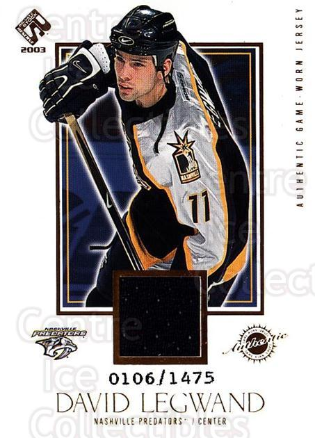 2002-03 Private Stock #128 David Legwand<br/>1 In Stock - $5.00 each - <a href=https://centericecollectibles.foxycart.com/cart?name=2002-03%20Private%20Stock%20%23128%20David%20Legwand...&quantity_max=1&price=$5.00&code=433429 class=foxycart> Buy it now! </a>