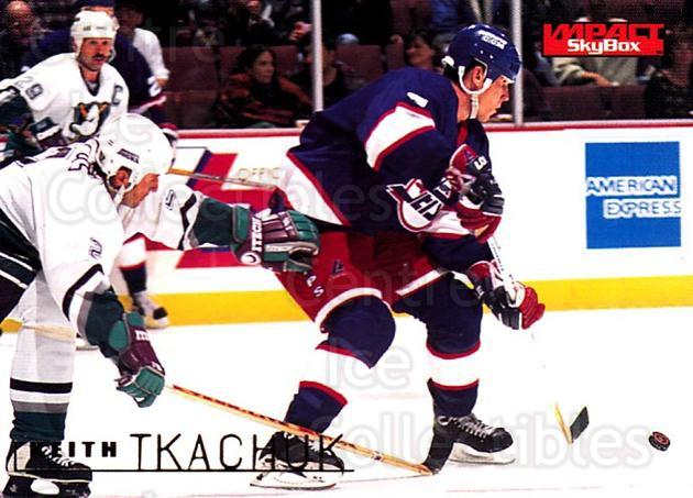 1995-96 SkyBox Impact #185 Keith Tkachuk<br/>4 In Stock - $1.00 each - <a href=https://centericecollectibles.foxycart.com/cart?name=1995-96%20SkyBox%20Impact%20%23185%20Keith%20Tkachuk...&quantity_max=4&price=$1.00&code=43347 class=foxycart> Buy it now! </a>