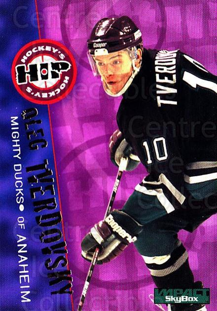 1995-96 SkyBox Impact #236 Oleg Tverdovsky<br/>5 In Stock - $1.00 each - <a href=https://centericecollectibles.foxycart.com/cart?name=1995-96%20SkyBox%20Impact%20%23236%20Oleg%20Tverdovsky...&quantity_max=5&price=$1.00&code=43400 class=foxycart> Buy it now! </a>