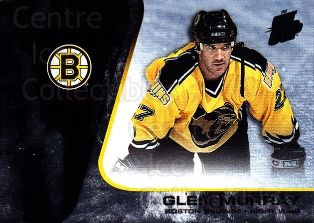 2002-03 Quest for the Cup #7 Glen Murray<br/>4 In Stock - $1.00 each - <a href=https://centericecollectibles.foxycart.com/cart?name=2002-03%20Quest%20for%20the%20Cup%20%237%20Glen%20Murray...&quantity_max=4&price=$1.00&code=434048 class=foxycart> Buy it now! </a>