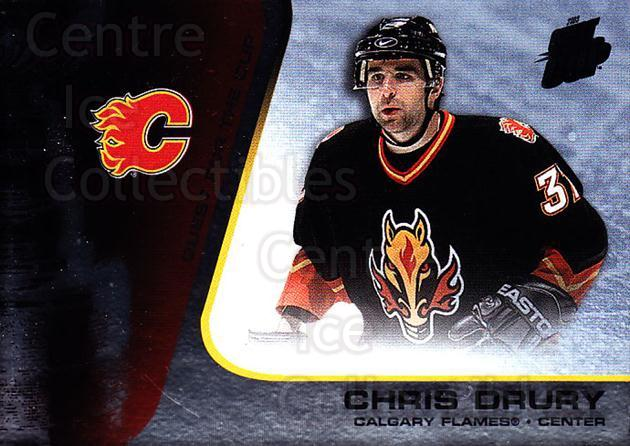 2002-03 Quest for the Cup #11 Chris Drury<br/>6 In Stock - $1.00 each - <a href=https://centericecollectibles.foxycart.com/cart?name=2002-03%20Quest%20for%20the%20Cup%20%2311%20Chris%20Drury...&quantity_max=6&price=$1.00&code=434052 class=foxycart> Buy it now! </a>