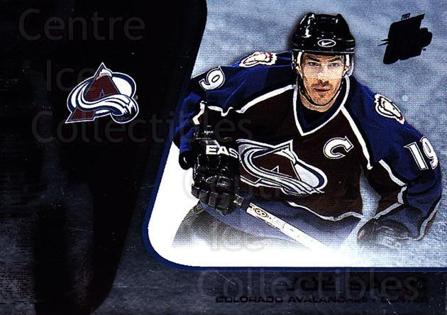 2002-03 Quest for the Cup #24 Joe Sakic<br/>2 In Stock - $2.00 each - <a href=https://centericecollectibles.foxycart.com/cart?name=2002-03%20Quest%20for%20the%20Cup%20%2324%20Joe%20Sakic...&quantity_max=2&price=$2.00&code=434065 class=foxycart> Buy it now! </a>