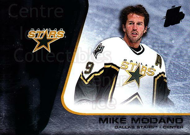 2002-03 Quest for the Cup #29 Mike Modano<br/>4 In Stock - $1.00 each - <a href=https://centericecollectibles.foxycart.com/cart?name=2002-03%20Quest%20for%20the%20Cup%20%2329%20Mike%20Modano...&quantity_max=4&price=$1.00&code=434070 class=foxycart> Buy it now! </a>