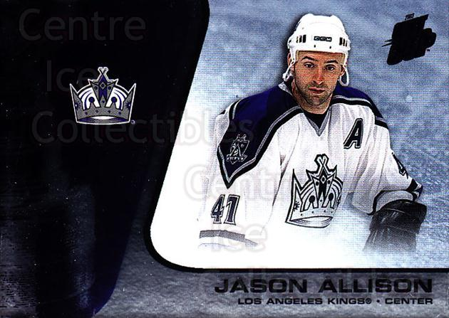 2002-03 Quest for the Cup #43 Jason Allison<br/>6 In Stock - $1.00 each - <a href=https://centericecollectibles.foxycart.com/cart?name=2002-03%20Quest%20for%20the%20Cup%20%2343%20Jason%20Allison...&quantity_max=6&price=$1.00&code=434084 class=foxycart> Buy it now! </a>