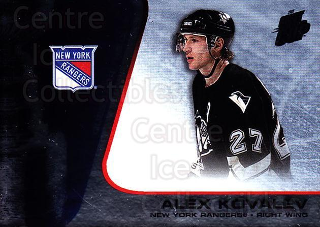 2002-03 Quest for the Cup #65 Alexei Kovalev<br/>5 In Stock - $1.00 each - <a href=https://centericecollectibles.foxycart.com/cart?name=2002-03%20Quest%20for%20the%20Cup%20%2365%20Alexei%20Kovalev...&quantity_max=5&price=$1.00&code=434106 class=foxycart> Buy it now! </a>