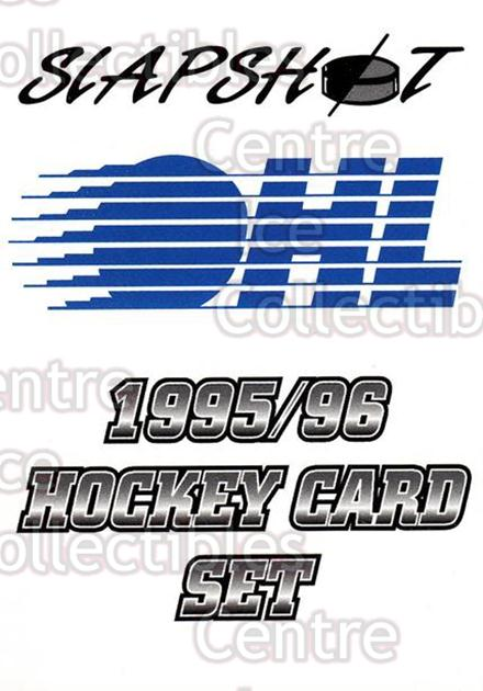 1995-96 Slapshot #1 Checklist<br/>6 In Stock - $2.00 each - <a href=https://centericecollectibles.foxycart.com/cart?name=1995-96%20Slapshot%20%231%20Checklist...&quantity_max=6&price=$2.00&code=43410 class=foxycart> Buy it now! </a>