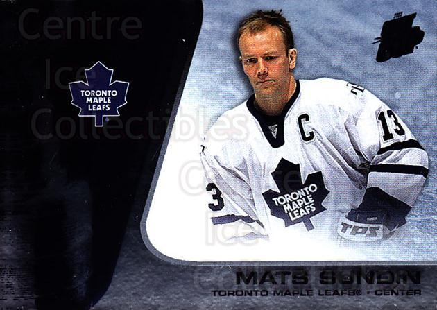 2002-03 Quest for the Cup #93 Mats Sundin<br/>1 In Stock - $1.00 each - <a href=https://centericecollectibles.foxycart.com/cart?name=2002-03%20Quest%20for%20the%20Cup%20%2393%20Mats%20Sundin...&quantity_max=1&price=$1.00&code=434134 class=foxycart> Buy it now! </a>