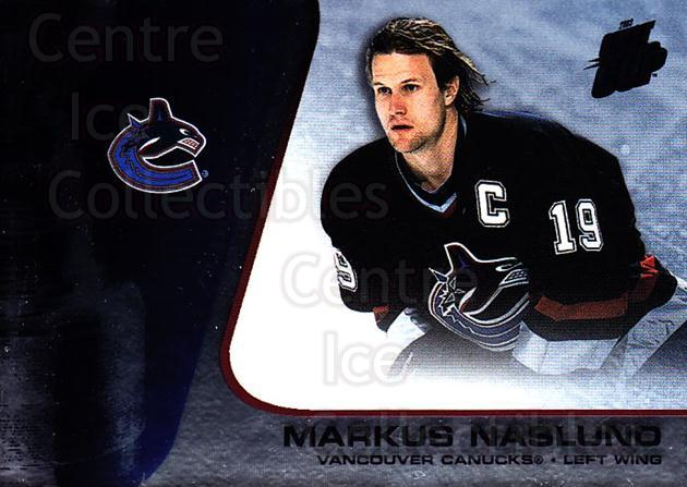 2002-03 Quest for the Cup #97 Markus Naslund<br/>4 In Stock - $1.00 each - <a href=https://centericecollectibles.foxycart.com/cart?name=2002-03%20Quest%20for%20the%20Cup%20%2397%20Markus%20Naslund...&quantity_max=4&price=$1.00&code=434138 class=foxycart> Buy it now! </a>