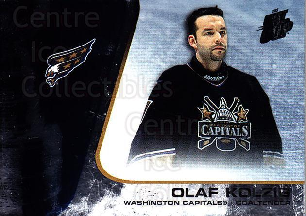 2002-03 Quest for the Cup #99 Olaf Kolzig<br/>5 In Stock - $1.00 each - <a href=https://centericecollectibles.foxycart.com/cart?name=2002-03%20Quest%20for%20the%20Cup%20%2399%20Olaf%20Kolzig...&quantity_max=5&price=$1.00&code=434140 class=foxycart> Buy it now! </a>