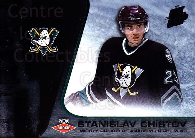 2002-03 Quest for the Cup #101 Stanislav Chistov<br/>1 In Stock - $3.00 each - <a href=https://centericecollectibles.foxycart.com/cart?name=2002-03%20Quest%20for%20the%20Cup%20%23101%20Stanislav%20Chist...&quantity_max=1&price=$3.00&code=434142 class=foxycart> Buy it now! </a>