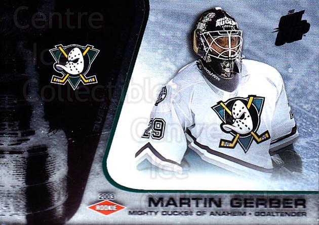 2002-03 Quest for the Cup #102 Martin Gerber<br/>1 In Stock - $3.00 each - <a href=https://centericecollectibles.foxycart.com/cart?name=2002-03%20Quest%20for%20the%20Cup%20%23102%20Martin%20Gerber...&quantity_max=1&price=$3.00&code=434143 class=foxycart> Buy it now! </a>