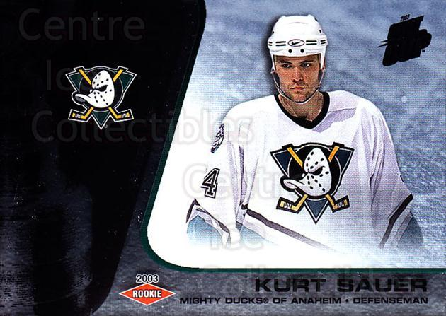 2002-03 Quest for the Cup #103 Kurt Sauer<br/>1 In Stock - $3.00 each - <a href=https://centericecollectibles.foxycart.com/cart?name=2002-03%20Quest%20for%20the%20Cup%20%23103%20Kurt%20Sauer...&quantity_max=1&price=$3.00&code=434144 class=foxycart> Buy it now! </a>