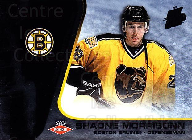 2002-03 Quest for the Cup #105 Shaone Morrisonn<br/>1 In Stock - $3.00 each - <a href=https://centericecollectibles.foxycart.com/cart?name=2002-03%20Quest%20for%20the%20Cup%20%23105%20Shaone%20Morrison...&quantity_max=1&price=$3.00&code=434146 class=foxycart> Buy it now! </a>