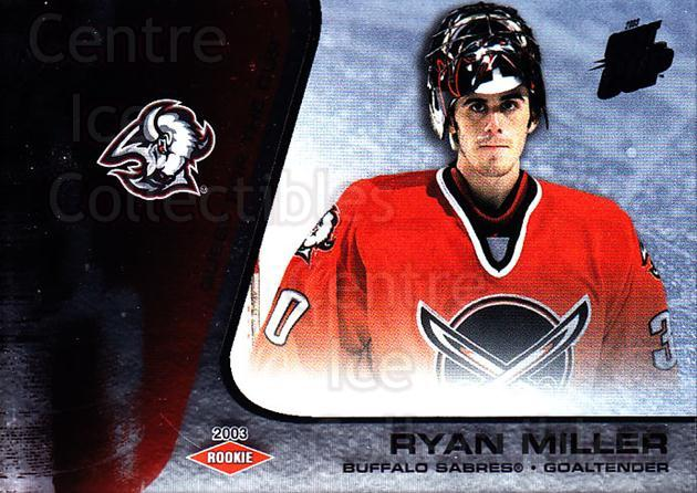 2002-03 Quest for the Cup #107 Ryan Miller<br/>1 In Stock - $5.00 each - <a href=https://centericecollectibles.foxycart.com/cart?name=2002-03%20Quest%20for%20the%20Cup%20%23107%20Ryan%20Miller...&quantity_max=1&price=$5.00&code=434148 class=foxycart> Buy it now! </a>
