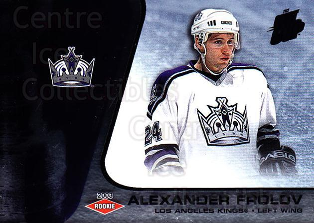 2002-03 Quest for the Cup #123 Alexander Frolov<br/>1 In Stock - $3.00 each - <a href=https://centericecollectibles.foxycart.com/cart?name=2002-03%20Quest%20for%20the%20Cup%20%23123%20Alexander%20Frolo...&quantity_max=1&price=$3.00&code=434164 class=foxycart> Buy it now! </a>