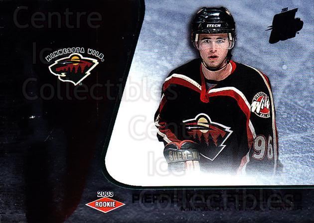 2002-03 Quest for the Cup #124 Pierre-Marc Bouchard<br/>1 In Stock - $3.00 each - <a href=https://centericecollectibles.foxycart.com/cart?name=2002-03%20Quest%20for%20the%20Cup%20%23124%20Pierre-Marc%20Bou...&quantity_max=1&price=$3.00&code=434165 class=foxycart> Buy it now! </a>