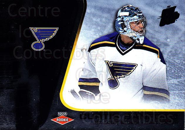 2002-03 Quest for the Cup #142 Curtis Sanford<br/>1 In Stock - $3.00 each - <a href=https://centericecollectibles.foxycart.com/cart?name=2002-03%20Quest%20for%20the%20Cup%20%23142%20Curtis%20Sanford...&quantity_max=1&price=$3.00&code=434183 class=foxycart> Buy it now! </a>