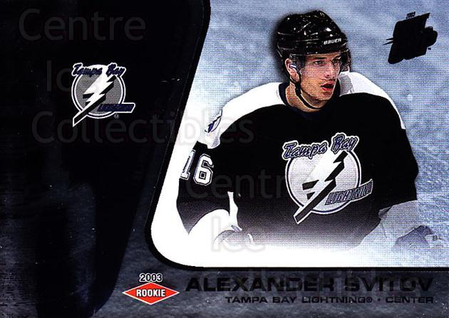 2002-03 Quest for the Cup #147 Alexander Svitov<br/>1 In Stock - $3.00 each - <a href=https://centericecollectibles.foxycart.com/cart?name=2002-03%20Quest%20for%20the%20Cup%20%23147%20Alexander%20Svito...&quantity_max=1&price=$3.00&code=434188 class=foxycart> Buy it now! </a>