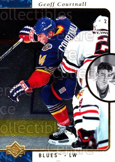 1995-96 SP #128 Geoff Courtnall<br/>7 In Stock - $1.00 each - <a href=https://centericecollectibles.foxycart.com/cart?name=1995-96%20SP%20%23128%20Geoff%20Courtnall...&quantity_max=7&price=$1.00&code=43503 class=foxycart> Buy it now! </a>