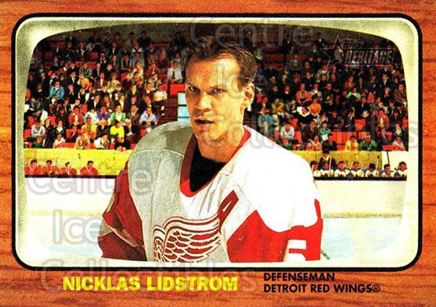 2002-03 Topps Heritage #1 Nicklas Lidstrom<br/>2 In Stock - $1.00 each - <a href=https://centericecollectibles.foxycart.com/cart?name=2002-03%20Topps%20Heritage%20%231%20Nicklas%20Lidstro...&quantity_max=2&price=$1.00&code=436036 class=foxycart> Buy it now! </a>
