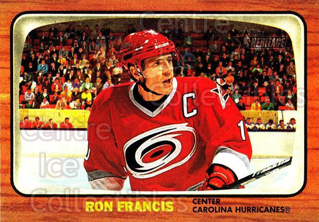 2002-03 Topps Heritage #4 Ron Francis<br/>6 In Stock - $1.00 each - <a href=https://centericecollectibles.foxycart.com/cart?name=2002-03%20Topps%20Heritage%20%234%20Ron%20Francis...&quantity_max=6&price=$1.00&code=436039 class=foxycart> Buy it now! </a>