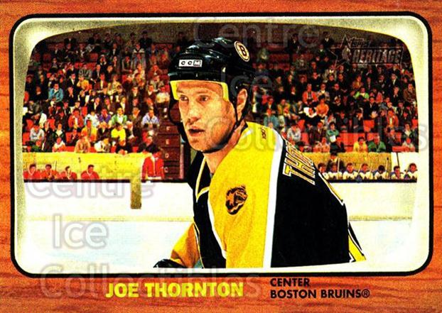 2002-03 Topps Heritage #5 Joe Thornton<br/>5 In Stock - $1.00 each - <a href=https://centericecollectibles.foxycart.com/cart?name=2002-03%20Topps%20Heritage%20%235%20Joe%20Thornton...&quantity_max=5&price=$1.00&code=436040 class=foxycart> Buy it now! </a>