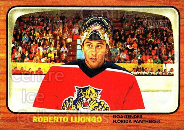 2002-03 Topps Heritage #8 Roberto Luongo<br/>4 In Stock - $1.00 each - <a href=https://centericecollectibles.foxycart.com/cart?name=2002-03%20Topps%20Heritage%20%238%20Roberto%20Luongo...&quantity_max=4&price=$1.00&code=436043 class=foxycart> Buy it now! </a>