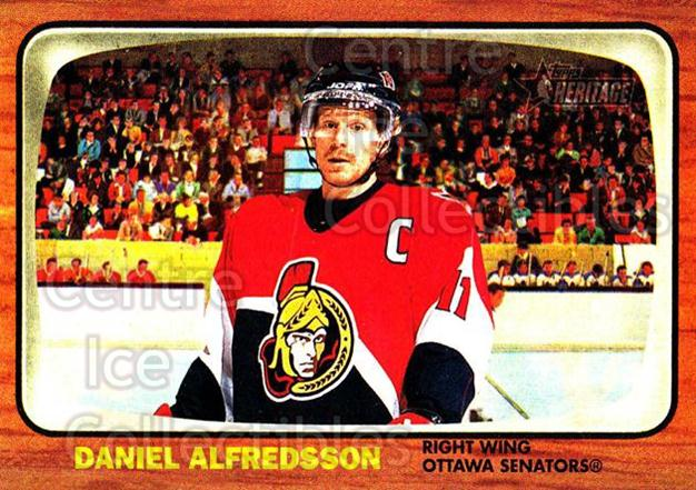 2002-03 Topps Heritage #15 Daniel Alfredsson<br/>6 In Stock - $1.00 each - <a href=https://centericecollectibles.foxycart.com/cart?name=2002-03%20Topps%20Heritage%20%2315%20Daniel%20Alfredss...&quantity_max=6&price=$1.00&code=436050 class=foxycart> Buy it now! </a>