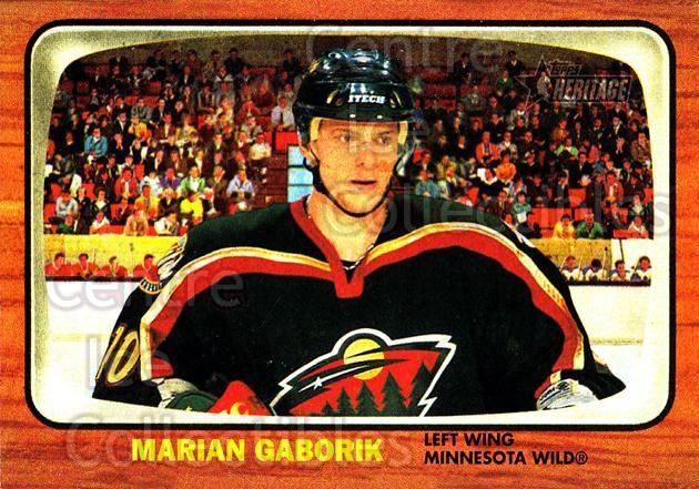 2002-03 Topps Heritage #16 Marian Gaborik<br/>3 In Stock - $1.00 each - <a href=https://centericecollectibles.foxycart.com/cart?name=2002-03%20Topps%20Heritage%20%2316%20Marian%20Gaborik...&quantity_max=3&price=$1.00&code=436051 class=foxycart> Buy it now! </a>