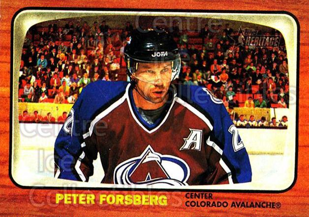 2002-03 Topps Heritage #17 Peter Forsberg<br/>5 In Stock - $1.00 each - <a href=https://centericecollectibles.foxycart.com/cart?name=2002-03%20Topps%20Heritage%20%2317%20Peter%20Forsberg...&quantity_max=5&price=$1.00&code=436052 class=foxycart> Buy it now! </a>
