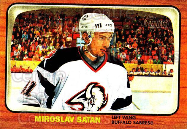 2002-03 Topps Heritage #18 Miroslav Satan<br/>5 In Stock - $1.00 each - <a href=https://centericecollectibles.foxycart.com/cart?name=2002-03%20Topps%20Heritage%20%2318%20Miroslav%20Satan...&quantity_max=5&price=$1.00&code=436053 class=foxycart> Buy it now! </a>