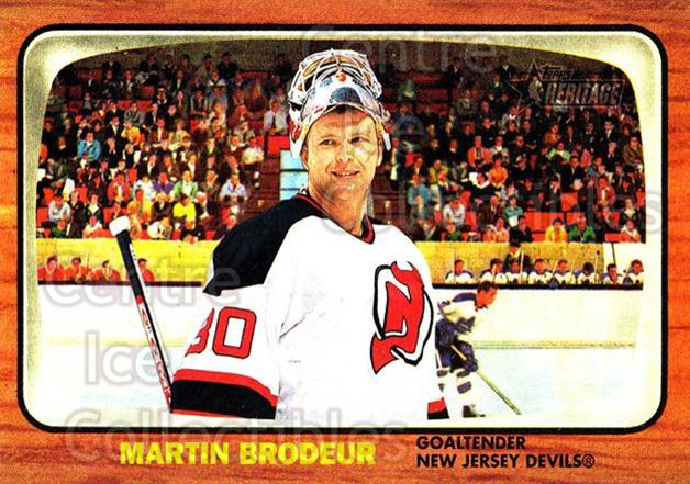 2002-03 Topps Heritage #19 Martin Brodeur<br/>2 In Stock - $2.00 each - <a href=https://centericecollectibles.foxycart.com/cart?name=2002-03%20Topps%20Heritage%20%2319%20Martin%20Brodeur...&quantity_max=2&price=$2.00&code=436054 class=foxycart> Buy it now! </a>